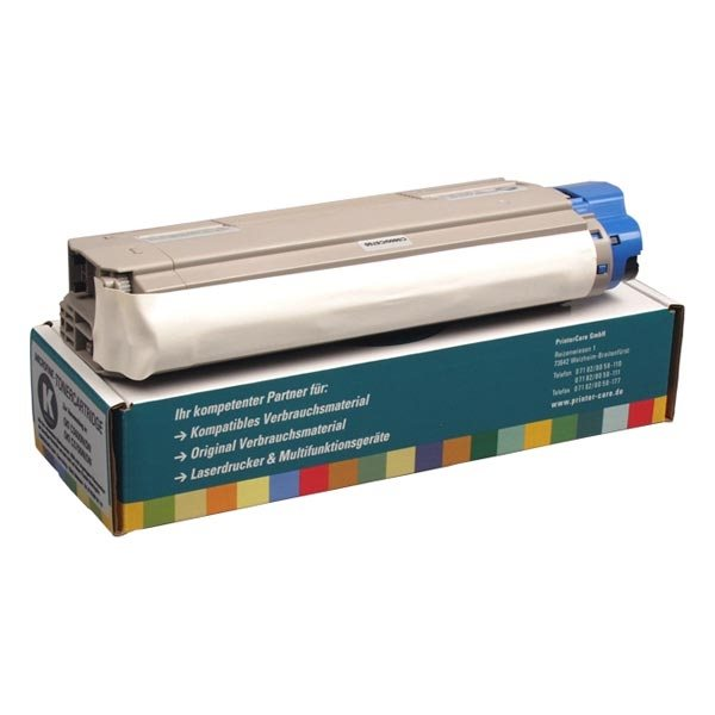 PrinterCare Toner schwarz kompatibel zu 43324408