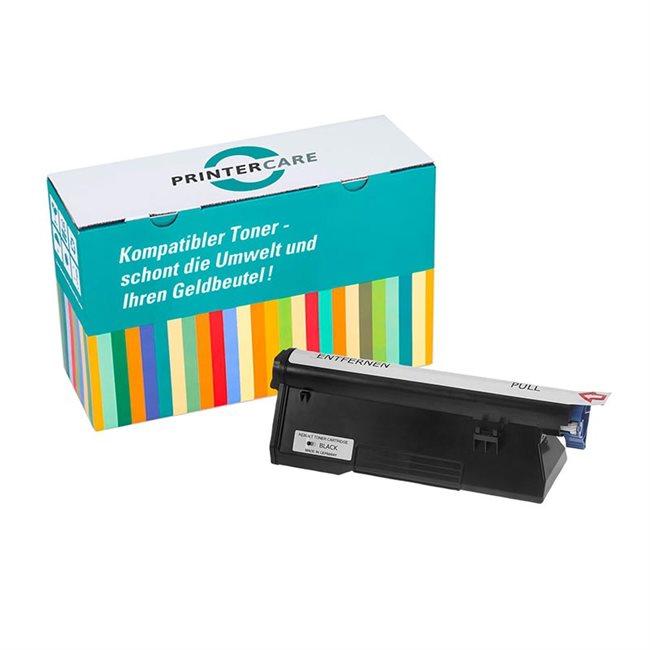 PrinterCare Toner schwarz kompatibel zu 43979202