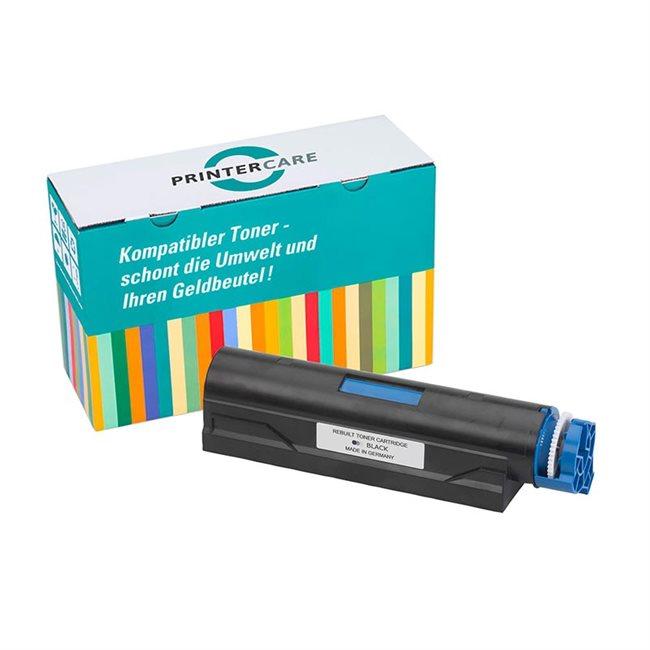 PrinterCare Toner schwarz kompatibel zu 44574802