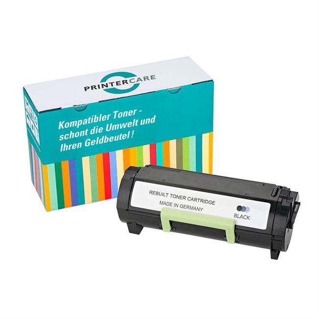 PrinterCare Toner schwarz kompatibel zu 60F2X00