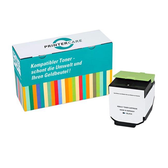 PrinterCare Toner schwarz kompatibel zu 80C2SK0
