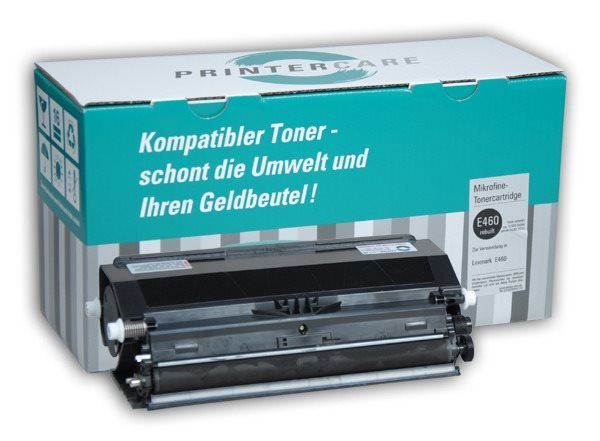 PrinterCare Toner schwarz - PC-E460