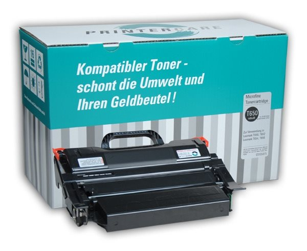 PrinterCare Toner schwarz - PC-T650-S