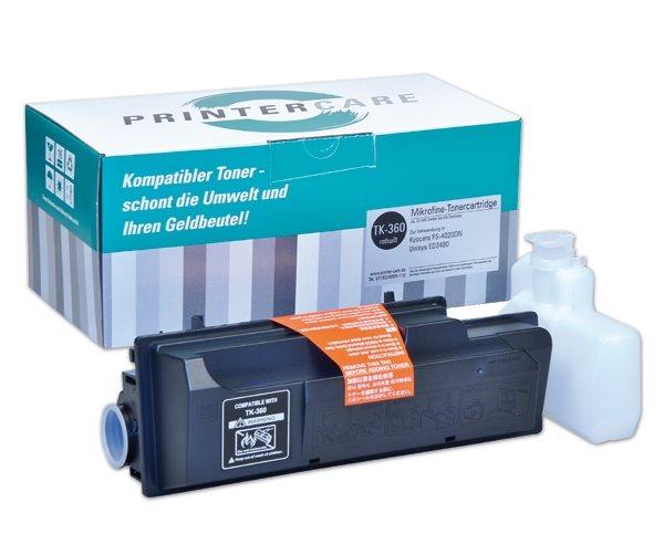PrinterCare Toner schwarz - PC-TK-360