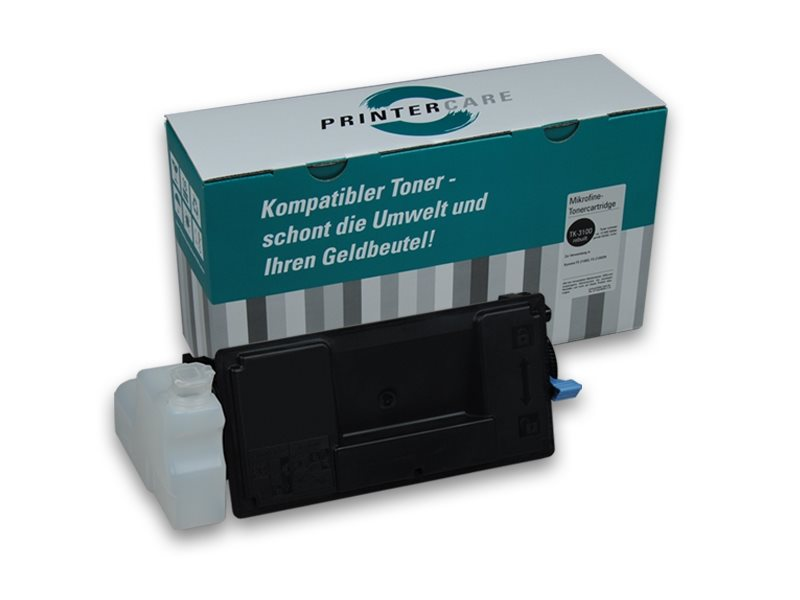 PrinterCare Toner schwarz - PC-TK3100-BK