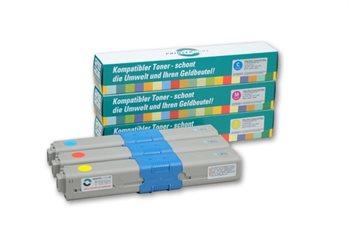 PrinterCare XL Tonerpaket CMY - PC-C310-CMY-HC
