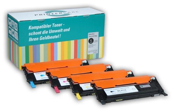 PrinterCare XL Tonerpaket CMYBK - PC-CLP320-CMYBK