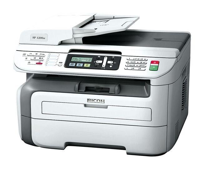 Ricoh Aficio SP 1200S Multifunktionsgerät