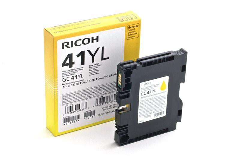 Ricoh Gel-Kartusche gelb , 405768