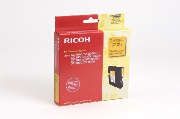 Ricoh Gel-Kartusche gelb für GX2500, 405535