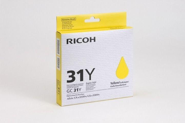 Ricoh Gel-Kartusche gelb für GXe2600, 405691