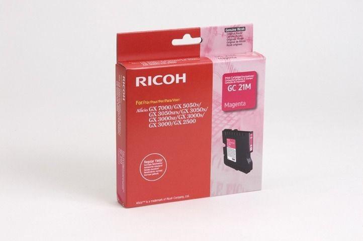 Ricoh Gel-Kartusche magenta für GX2500, 405534