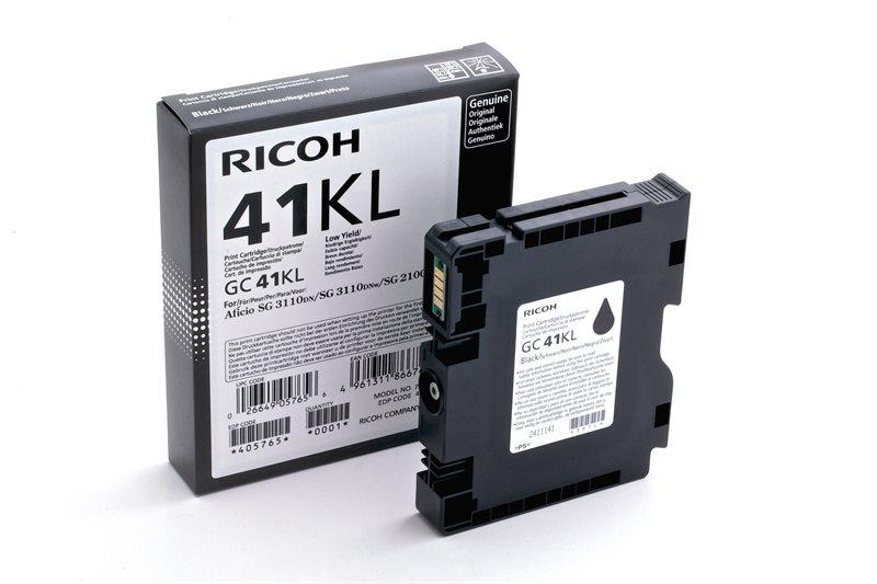 Ricoh Gel-Kartusche schwarz , 405765