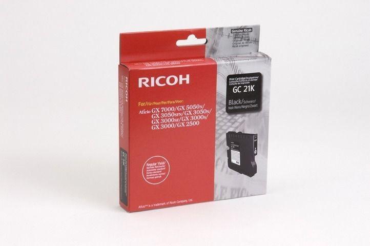 Ricoh Gel-Kartusche schwarz für GX2500, 405532