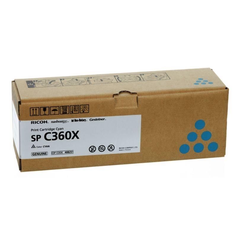 Ricoh Original HC Toner cyan - 408251