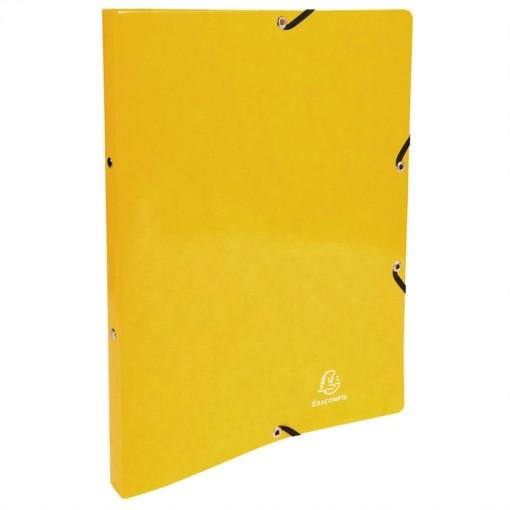 Ringbuch mit Gummizug, 2 Ringe 15mm, Rücken 20mm, 32x25cm für DIN A4 - Iderama