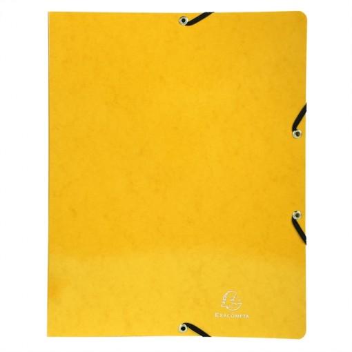 Ringbuch mit Gummizug, 4 Ringe 15mm, Rücken 20mm, 32x25cm für DIN A4 - Iderama