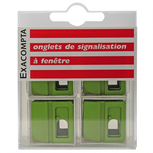 Schachtel mit 48 Stück Kartenreitern blanko, Breite 25mm