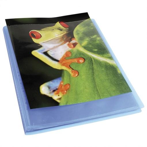 Sichtmappe aus PP 500µ mit 60 Hüllen Kreacover Chromaline, für Format DIN A4