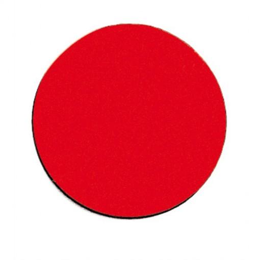 Symbolmagnet, 10 mm, 10 g, rot
