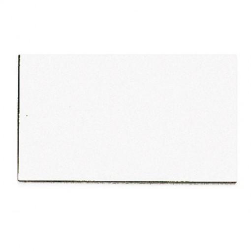Symbolmagnet, 10 x 20 mm, 10 g, weiß