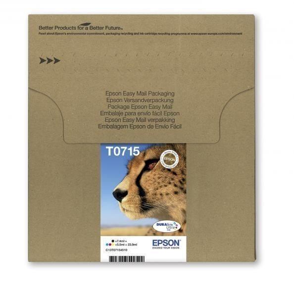 T0715 Easy Mail Packaging - 4er-Pack - schwarz, ge