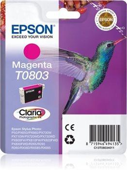T0803 - magenta - Original - Blisterverpackung - T