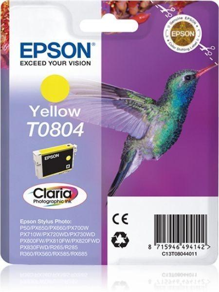 T0804 - gelb - Original - Blisterverpackung - Tint