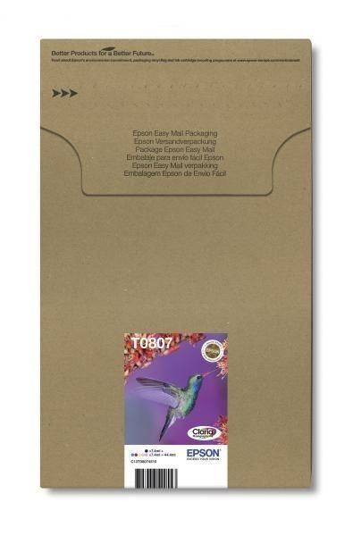 T0807 Easy Mail Packaging - 6er-Pack - schwarz, ge