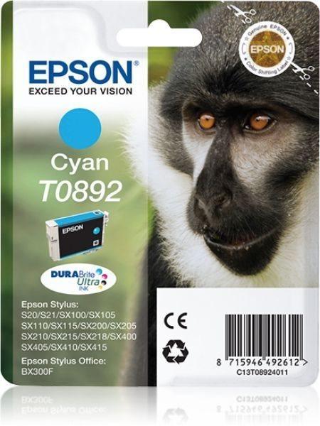 T0892 - cyan - Original - Blisterverpackung - Tint