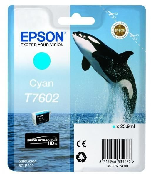 T7602 - cyan - Original - Blisterverpackung - Tint