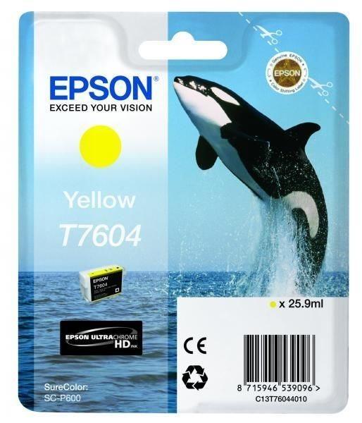 T7604 - gelb - Original - Blisterverpackung - Tint