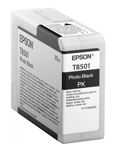 T8501 - Photo schwarz - Original - Tintenpatrone