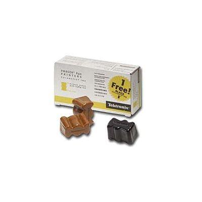 Tektronix Colorstix gelb, schwarz für Phaser 840