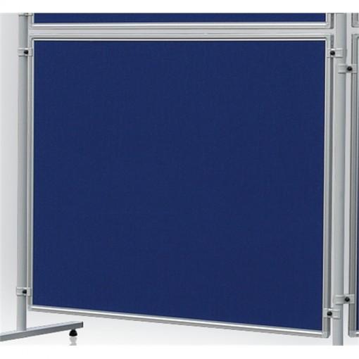 Textiltafel ECO, beidseitig verwendbar, 120 x 120 cm, blau