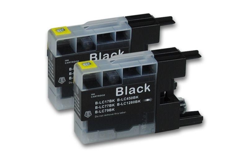 Tinte XL schwarz (2er Pack) - PC-LC1280XLBKP2
