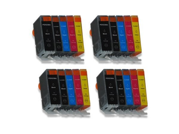 Tinten-Mulitpack komp. zu Canon PGI-525BK+CLI-526