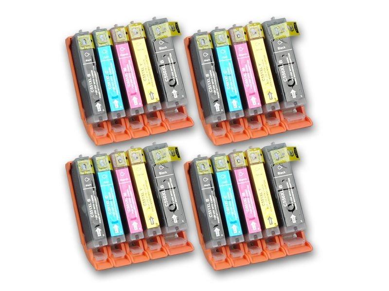 Tinten-Multipack komp. zu Canon PGI-550/CLI-551