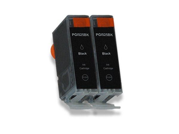 Tintenpatrone Twinpack komp. zu Canon PGI-525BK