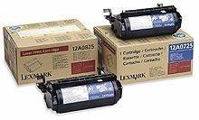 Toner schwarz für Lexmark Optra Se 3455 - 12A0825