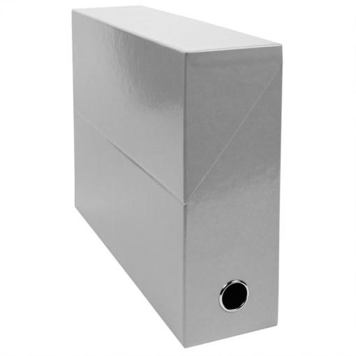 Transferbox aus Karton, Rücken 90mm, 25x33cm für DIN A4 - Iderama