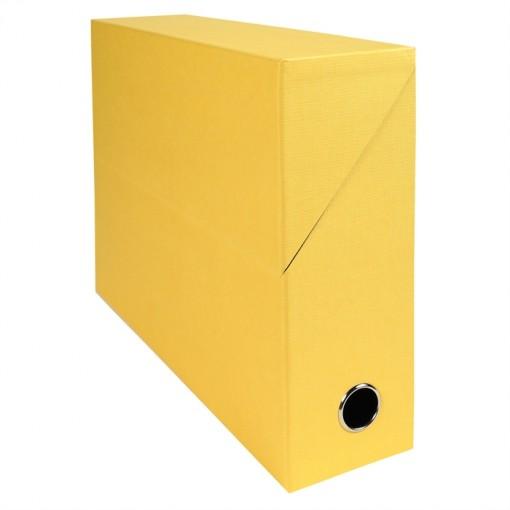 Transferbox Rücken 90mm gerilltes Papier