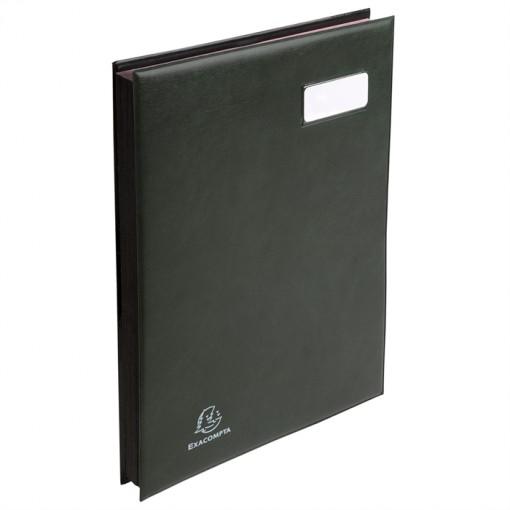 Unterschriftenmappe L'Expanse, 24 Fächer, Format 24x32cm