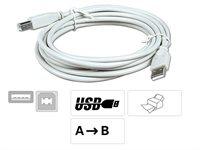 USB - Anschlußkabel, schwarz 1,8 Meter
