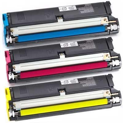 Value-Kit Toner für QMS Magicolor 2300 ( c,m,y )