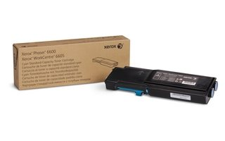 Xerox Original - Toner cyan -  106R02245