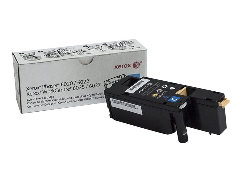 Xerox Original - Toner cyan -  106R02756