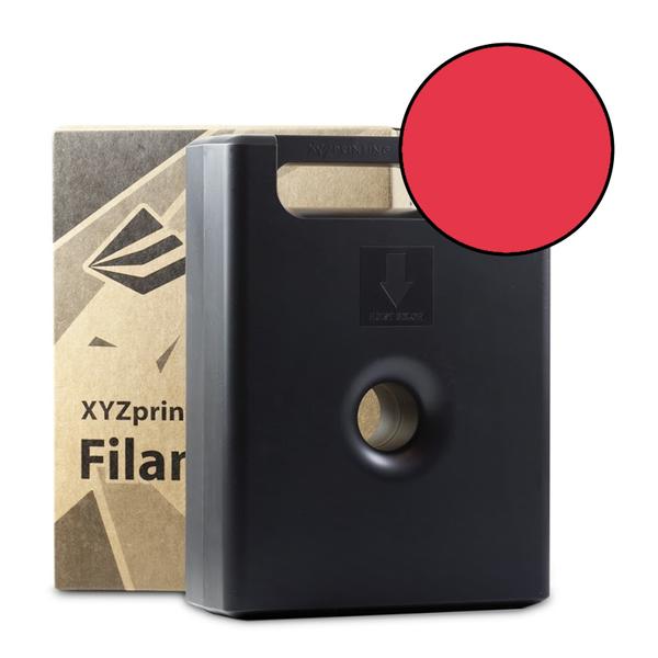 600g Clear Red PLA Filament Cartridge