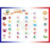 ACROPAQ A4 Affiche Educatif Plastifiée Mon alphabet 30x21cm Effaçable - pour Enfant