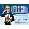 Archivbox aus PP 700µ, Rücken 25mm, 25x33cm für DIN A4 - Kreacover